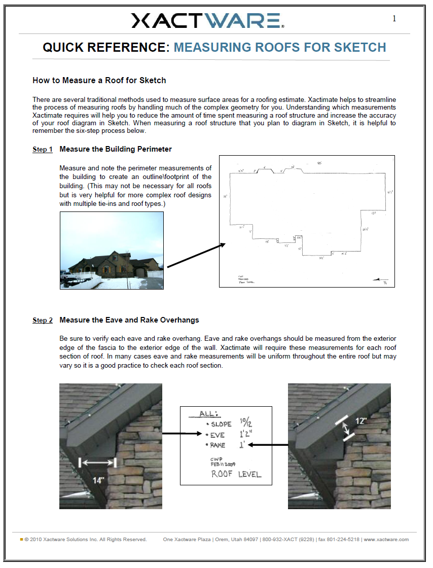Quit Smoke: roofing xactimate